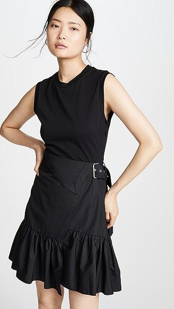 3.1 Phillip Lim 配腰带 T 恤式连衣裙