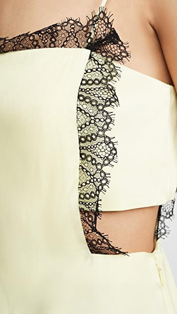 3.1 Phillip Lim Lace Square Front Cami