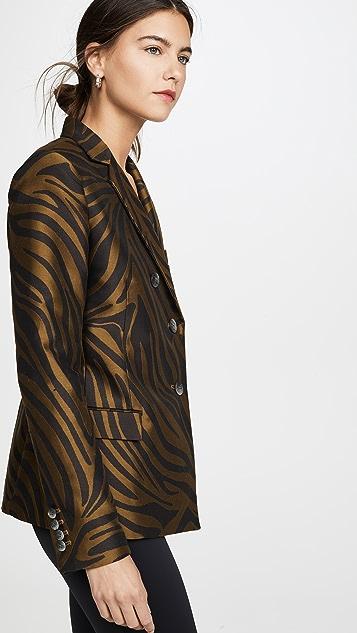 3.1 Phillip Lim Zebra Jacquard Blazer