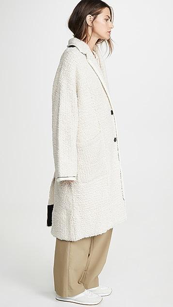 3.1 Phillip Lim 超大珠地布开襟衫外套