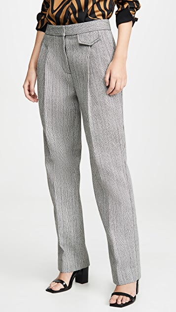 3.1 Phillip Lim Full Length Tweed Pants