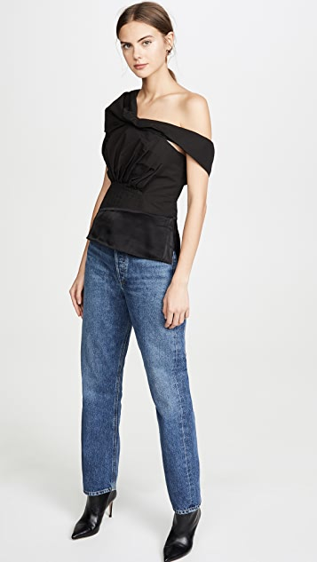 3.1 Phillip Lim Side Shoulder Top