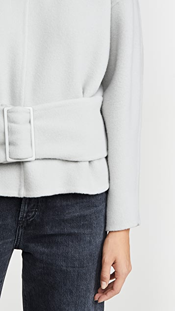 3.1 Phillip Lim Long Sleeve Pullover with Belt