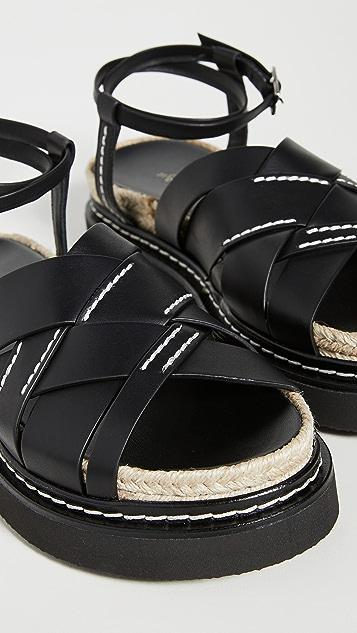 3.1 Phillip Lim Yasmine 厚底凉鞋