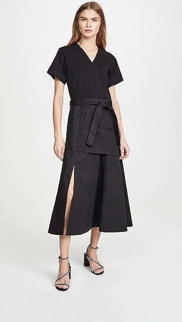 3.1 Phillip Lim Short Sleeve Utility Dress