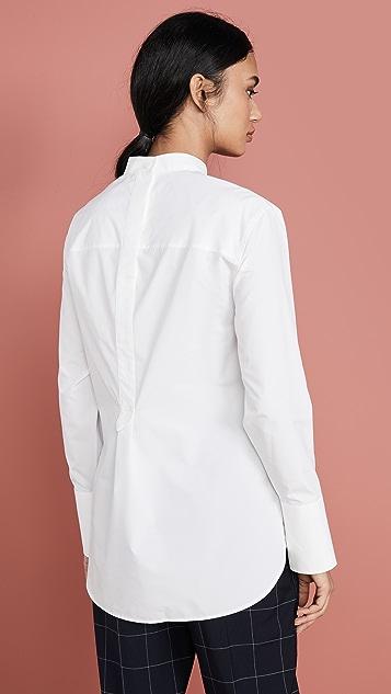 3.1 Phillip Lim Poplin Patchwork Shirt