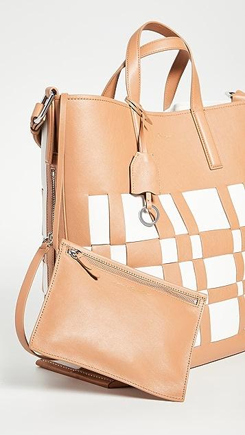 3.1 Phillip Lim Современная сетчатая сумка для покупок Odita