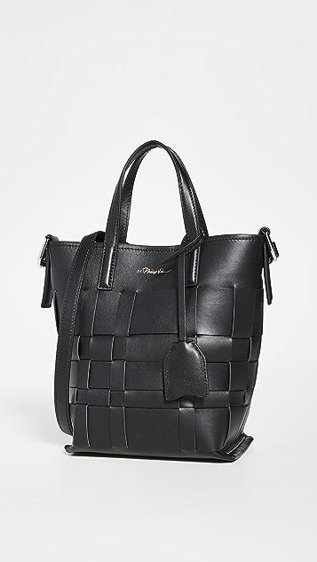 3.1 Phillip Lim Odita Mini Modern Lattice Bucket Bag