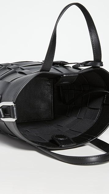 3.1 Phillip Lim Современные Odita Миниатюрная сумка-ведро с сетчатыми вставками
