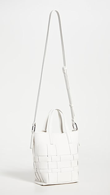 3.1 Phillip Lim Odita Mini Modern Lattice Bucket Bag