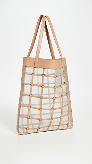 3.1 Phillip Lim Billie Medium Cage Twisted Tote