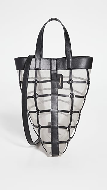3.1 Phillip Lim Billie Mini Twisted Cage Tote