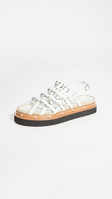 3.1 Phillip Lim Yasmine Cage 厚底凉鞋