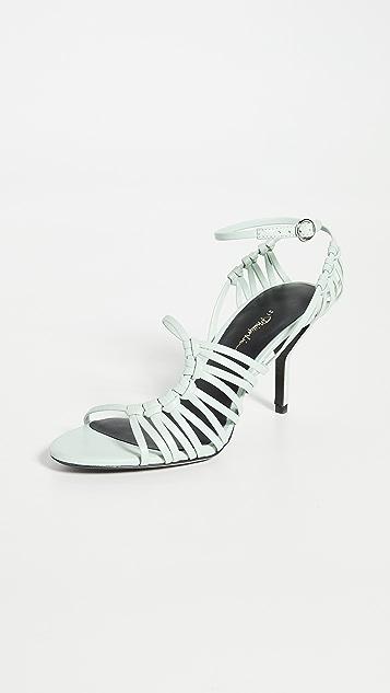 3.1 Phillip Lim 75mm Lily 系带凉鞋