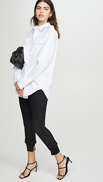 3.1 Phillip Lim 褶皱慢跑裤