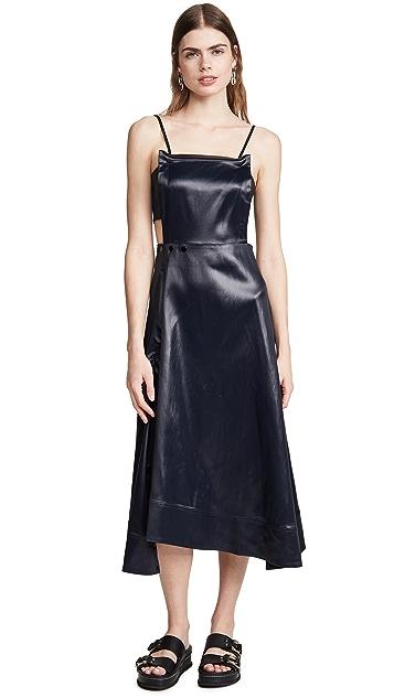 3.1 Phillip Lim Lacquered Cutout Dress