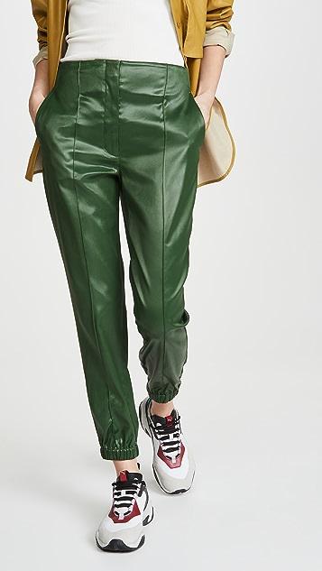 3.1 Phillip Lim Ghost 腰部涂漆修身慢跑长裤