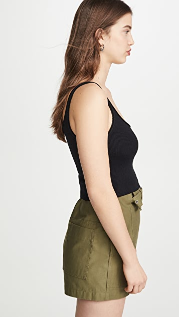 3.1 Phillip Lim Tank with Picot Stitch