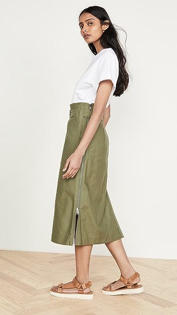 3.1 Phillip Lim 系腰带工装连衣裙