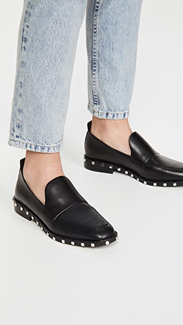 3.1 Phillip Lim Alexa 25mm Studded Loafers