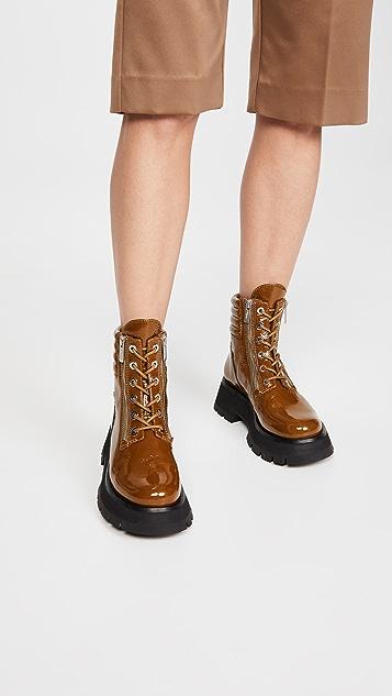 3.1 Phillip Lim Kate Lug Sole Double Zip Boots