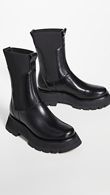 3.1 Phillip Lim Kate 沟纹鞋底军靴