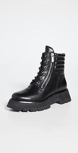 3.1 Phillip Lim - Kate Lug Sole Double Zip Boots