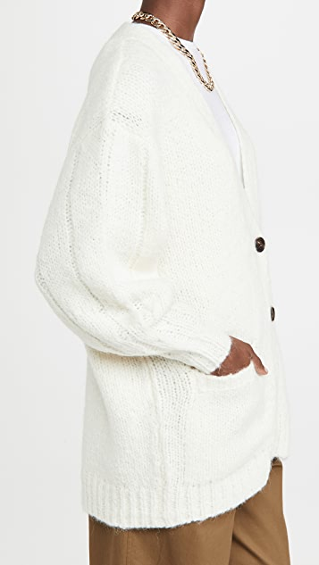 3.1 Phillip Lim 羊驼毛羊毛系扣衫