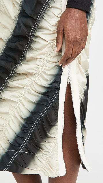 3.1 Phillip Lim Dip Dye Parachute Skirt
