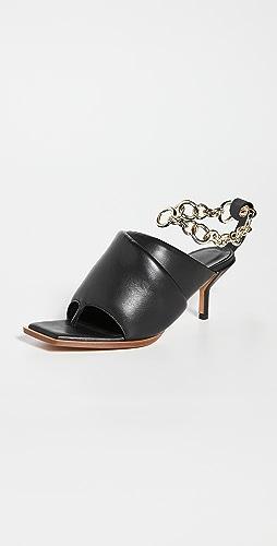 3.1 Phillip Lim - Georgia 60mm 链条加厚穆勒鞋