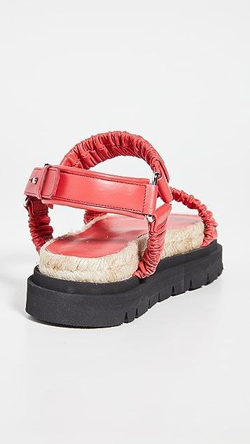3.1 Phillip Lim Noa 系带厚底便鞋