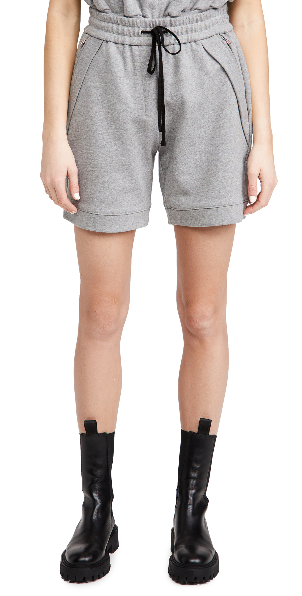 3.1 Phillip Lim French Terry Pull On Shorts