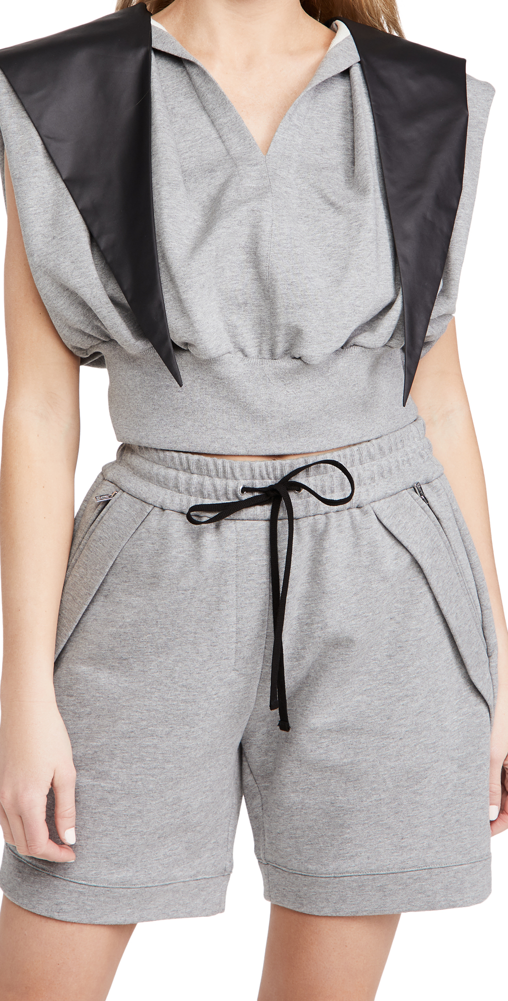 3.1 Phillip Lim French Terry Hooded Tank