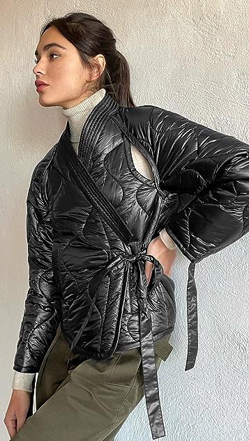 3.1 Phillip Lim Utility Ripstop Nylon Kimono Jacket