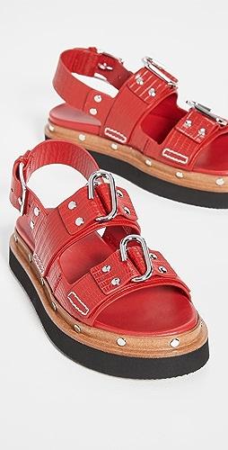 3.1 Phillip Lim - Alix Flatform Sandals
