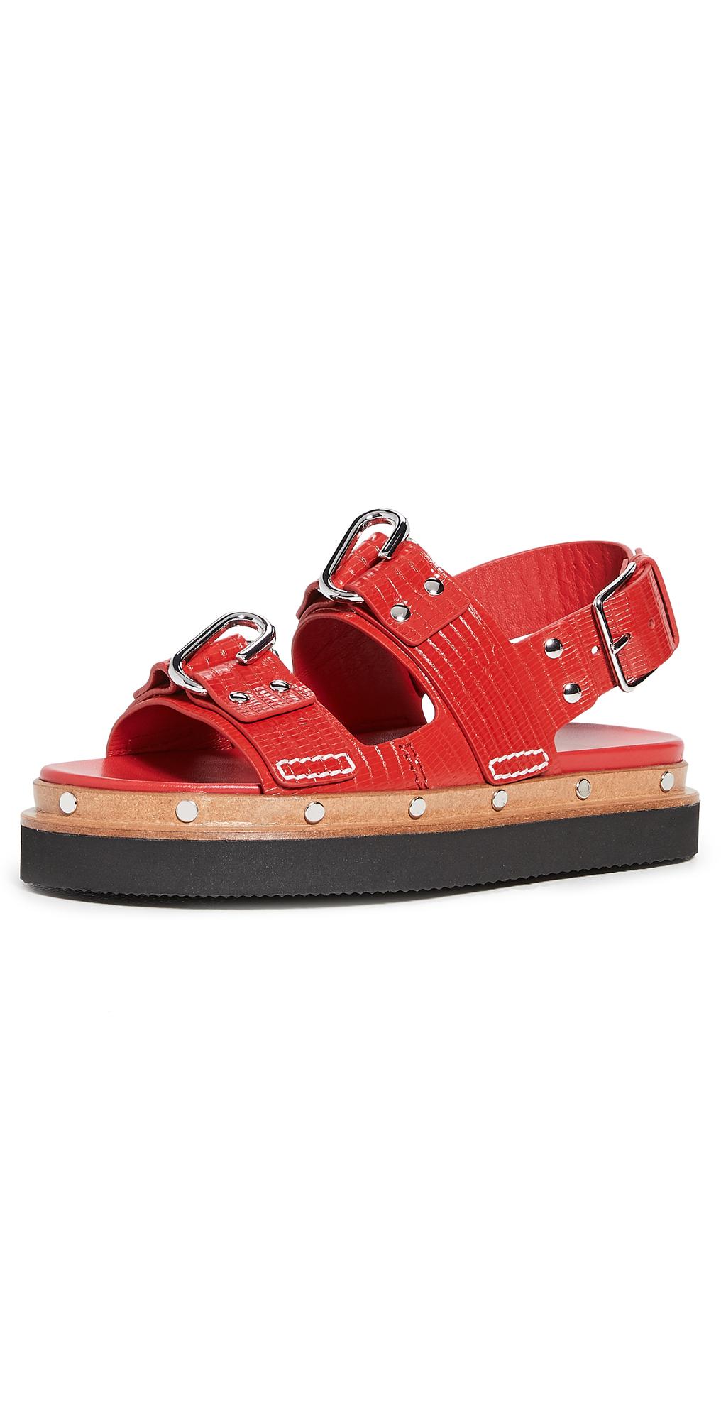 3.1 Phillip Lim Alix Flatform Sandals