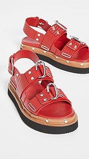 3.1 Phillip Lim 平底凉鞋