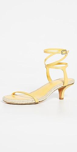 3.1 Phillip Lim - Yasmine 50mm 麻编平底鞋