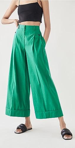 3.1 Phillip Lim - Wide Leg Cropped Pants