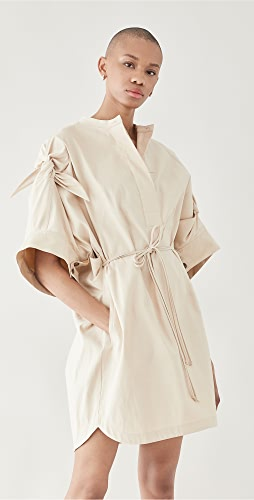 3.1 Phillip Lim - Knotted Sleeve Mid Length Dress