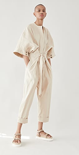 3.1 Phillip Lim - Jumpsuit with Smocked Waistband
