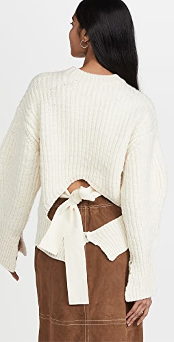 3.1 Phillip Lim - Chunky Knit Cropped Crew Neck