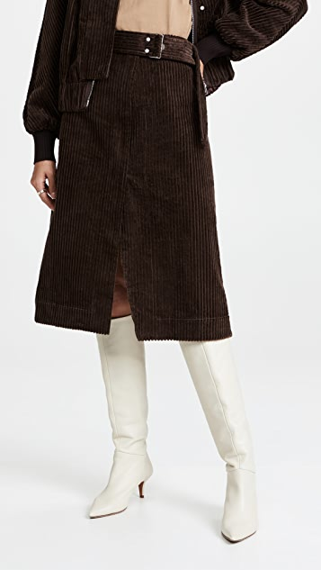 3.1 Phillip Lim Utility Corduroy Skirt