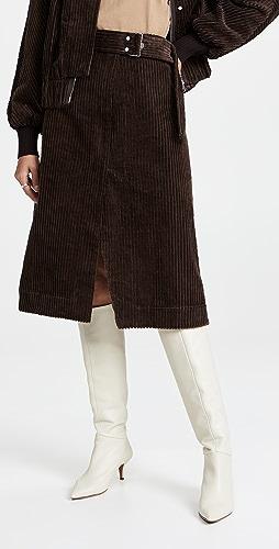 3.1 Phillip Lim - Utility Corduroy Skirt