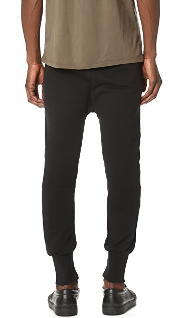 Pierre Balmain Moto Sweat Pants