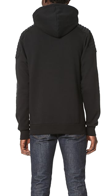 Pierre Balmain Hooded Sweatshirt