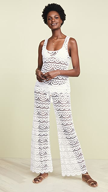 PilyQ Кружевные брюки Malibu