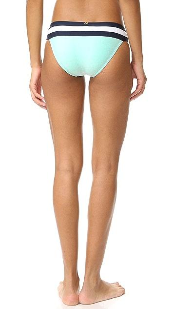 PilyQ Banded Color Bikini Bottoms