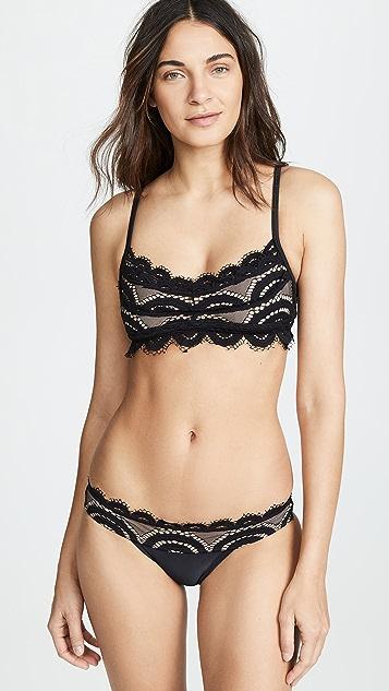 a683a7a9cdffc PilyQ. Lace Bralette Bikini Top