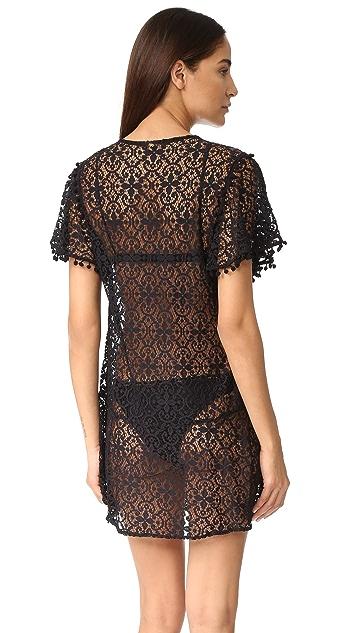 PilyQ Pom Pom Dress